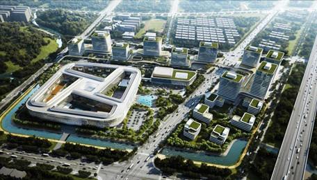 装配式新地标诞生:阿里巴巴菜鸟全球总部大楼